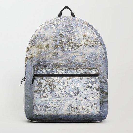Sea wave splash Backpack
