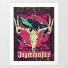 Meister of jägers Art Print