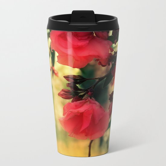 A promise of sweet softness Metal Travel Mug