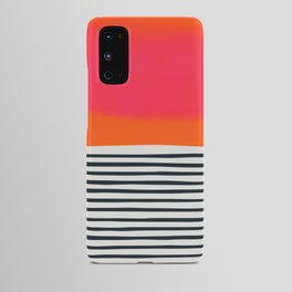 Sunset Ripples Android Case