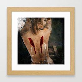 Fallen Angel Framed Art Print