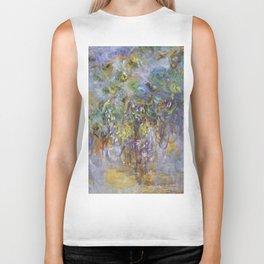 """Claude Monet """"Wisteria"""", 1919-1920 Biker Tank"""