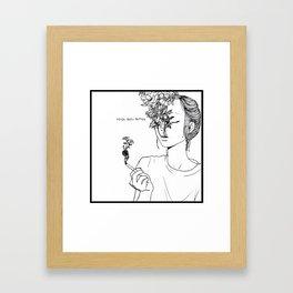 Breathing Easy Framed Art Print