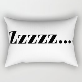 zzz... Rectangular Pillow