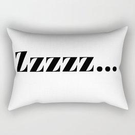zzz... Rectangular Pillow