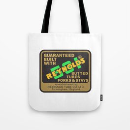 Reynolds 531 - Enhanced Tote Bag