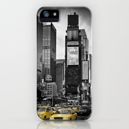 NEW YORK CITY Times Square | colorkey iPhone Case