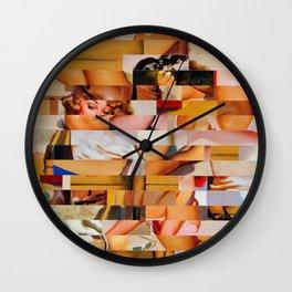 Yo Mama's a Real Estate Agent (Provenance Series) Wall Clock
