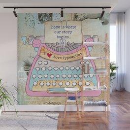 Typewriter #5 Wall Mural