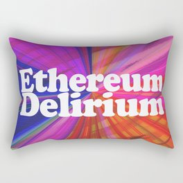 Ethereum Delirium Rectangular Pillow