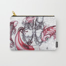Shoes and Fishes Carry-All Pouch