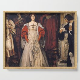 Who is Sylvia? What is She, That All the Swains Commend Her? by Edwin Austin Abbey Serving Tray