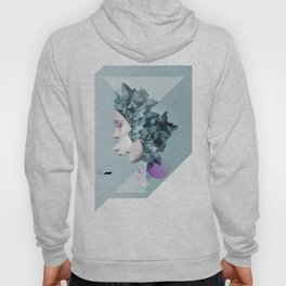 Faces Blue 02 Hoody
