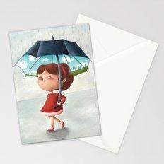 Happy umbrella Stationery Cards