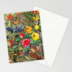 Birds Insects Plants Stationery Cards