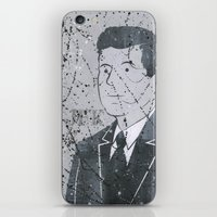 jfk iPhone & iPod Skins featuring JFK by Doren Chapman