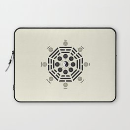 Bagua Poster With Eight Trigrams Laptop Sleeve