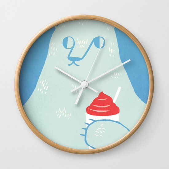 Polar Beverage Wall Clock