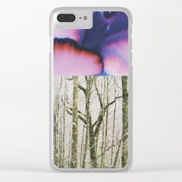 peace analogic collab Dylan silva Clear iPhone Case
