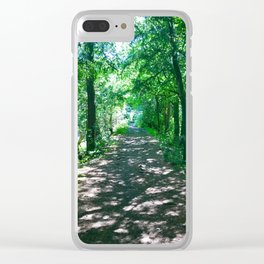 The Path to Peace Clear iPhone Case