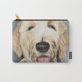 Goldendoodle Watercolor Carry-All Pouch