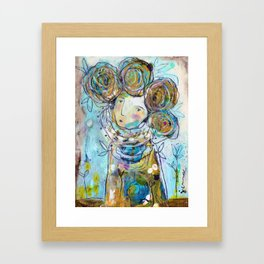 Tell Me Your Dreams Framed Art Print