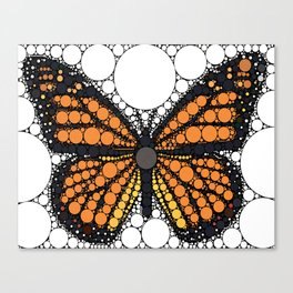 """Monarch Butterfly - from """"Further Back"""" series Canvas Print"""