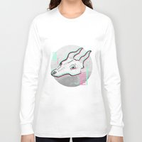glitch Long Sleeve T-shirts featuring Glitch by Sonia Lazo