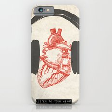 Listen to Your Heart iPhone 6s Slim Case