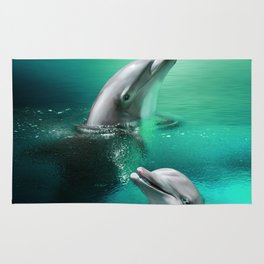 Dolphin Delights Rug