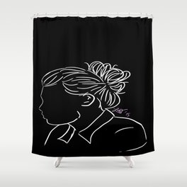 Bun Harry Shower Curtain