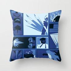 Street Fighter II Art Deco Throw Pillow
