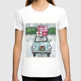 Christmas Car To Grandmother's House T-shirt