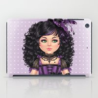 goth iPad Cases featuring Little Goth by DiMary