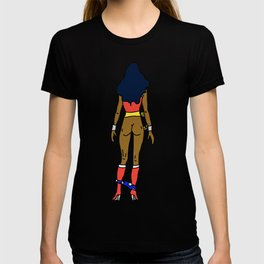 Wonder Butt - Dark Chocolate Love - Feminism T-shirt