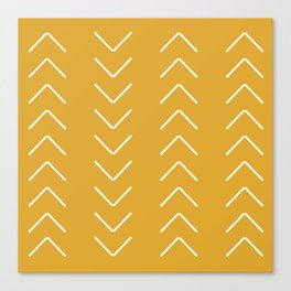V / Yellow Canvas Print