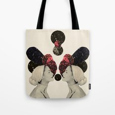 helen and clytemnestra Tote Bag