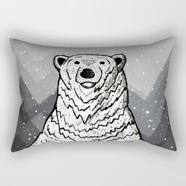 Polar Bear Rectangular Pillow