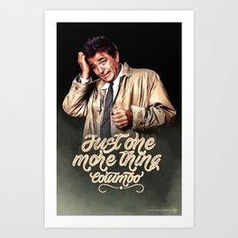 Columbo - TV Shows Art Print