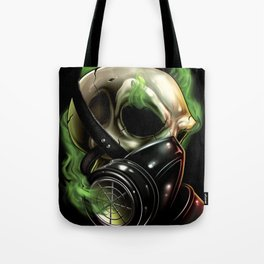 Skull/Gas mask 12 Tote Bag