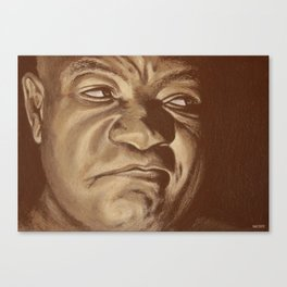 round 6...george foreman Canvas Print