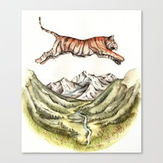 Tiger Leaping Gorge Canvas Print