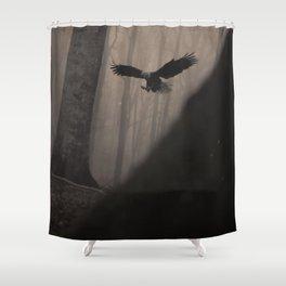 Magic Eagle Shower Curtain