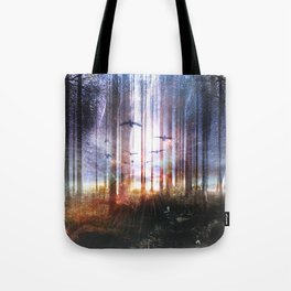 Absinthe forest Tote Bag