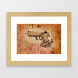 Jericho Framed Art Print