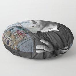 Jack Kerouac San Francisco Floor Pillow