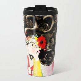 Let´s think left side brain sometimes Travel Mug