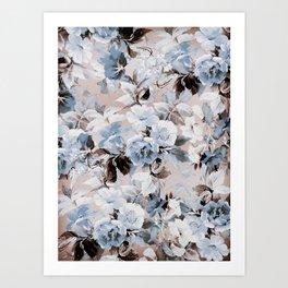 FLORAL PATTERN 10 Art Print