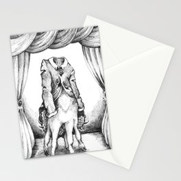 Haunted Clothing- The Coat of a Thousand Young Stationery Cards