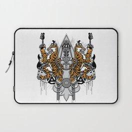 """""""Detroit Nouveau; Coat of Arms"""" Laptop Sleeve"""